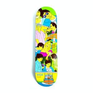 """Enjoi Weekend At Louie's 8.25"""" Skateboard Deck - Barletta"""