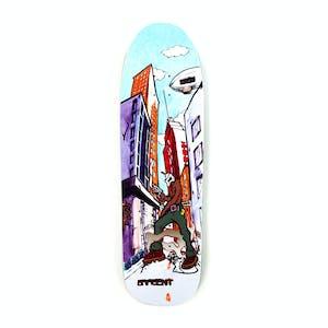 """New Deal Sargent Invader 9.25"""" Skateboard Deck - Slick"""