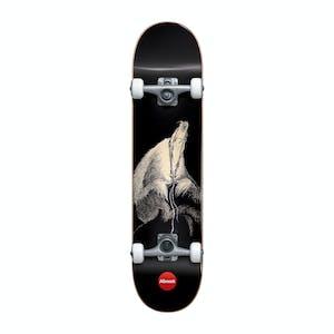 """Almost Dr. Seuss Secret Art 7.875"""" Complete Skateboard - Black"""