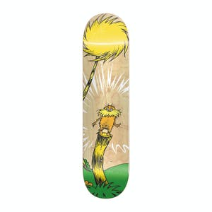"Almost Dr. Seuss Youth Logo 7.38"" Skateboard Deck - Natural"