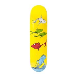 """Almost x Dr. Seuss 8.25"""" Skateboard Deck - Yuri"""