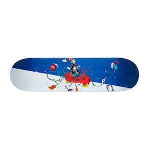 "Almost x Dr. Seuss Cat Car 8.25"" Skateboard Deck - Mullen"
