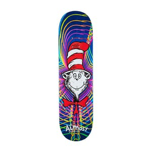 "Almost x Dr. Seuss Zoom Cat 8.38"" Skateboard Deck - Blue"