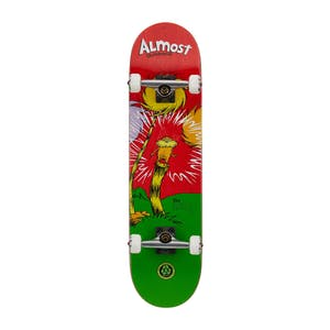 "Almost x Dr. Seuss Lorax Premium 8.0"" Complete Skateboard - Red"
