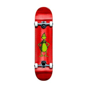 "Almost x Dr. Seuss Grinch Foil 8.0"" Complete Skateboard - Red"