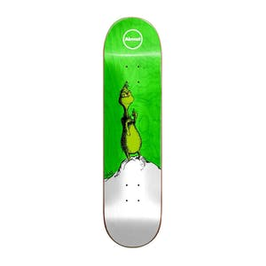 "Almost x Dr. Seuss Grinch 8.38"" Skateboard Deck - Yuri"
