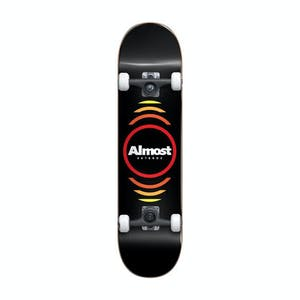 """Almost Reflex Youth 7.0"""" Complete Skateboard - Black"""