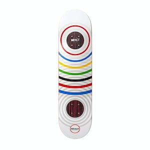 "Almost Cooper Ring Games 8.0"" Skateboard Deck - White"