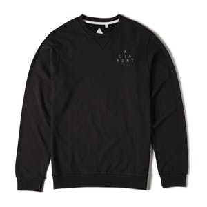Altamont Antisec Fleece Crewneck - Black