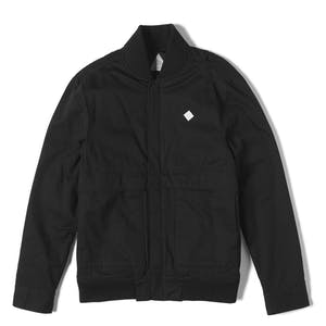Altamont Strangelight Bomber Jacket - Black/Charcoal