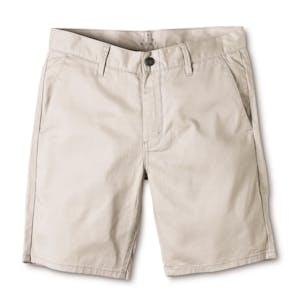 Altamont Davis Slim Short — Grey/Silver