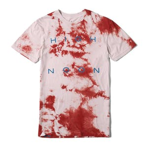 Altamont High Noon Tie-Dye T-Shirt — Cardinal