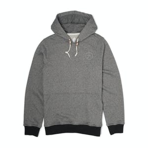 Altamont Sharp Angles Circle Fleece Hoodie — Grey/Heather