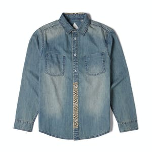 Altamont Peyote Zefer Denim Shirt — Faded Wash