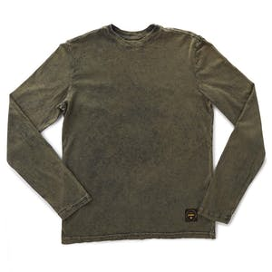 Altamont Reynolds Wash Long-Sleeve T-Shirt - Army
