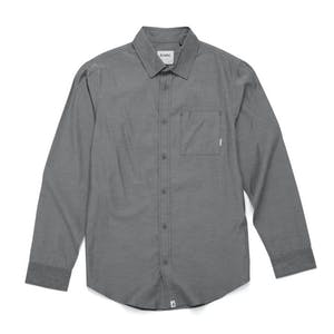 Altamont Alass 2 Long Sleeve Woven Shirt - Black