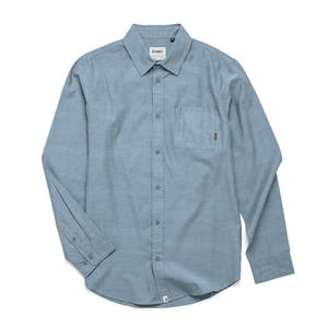 Altamont Alass 2 Long Sleeve Woven Shirt - Blue