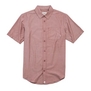 Altamont Alass 2 Short Sleeve Woven Shirt - Oxblood