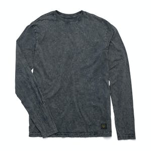 Altamont Reynolds Wash Long Sleeve T-Shirt - Dark Grey
