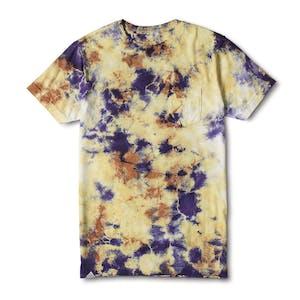 Altamont Abrasion Tie-Dye Pocket T-Shirt - Gold