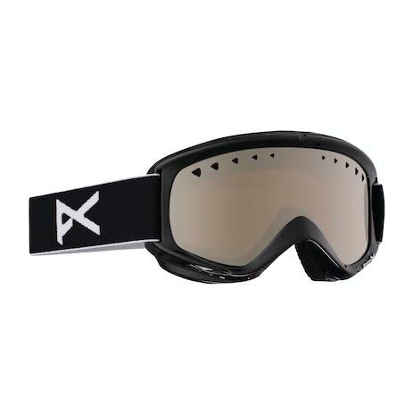 Anon Helix Snowboard Goggle - Black / Silver + Bonus Lens