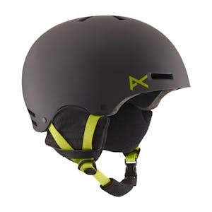 anon. Raider Snowboard Helmet - Black/Green