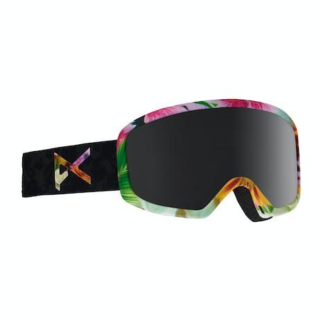 Anon Deringer MFI Women's Snowboard Goggle - Black Widow / Dark Smoke