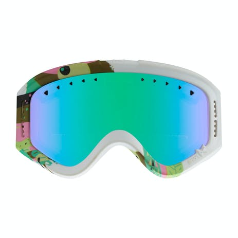 anon. Tracker Youth Snowboard Goggle 2018 - Birdie / Green Amber