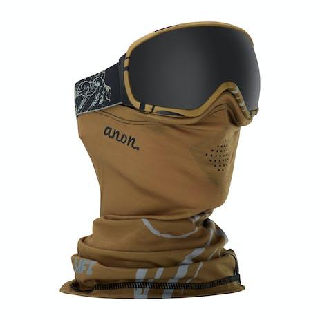 anon. Tempest MFI Women's Snowboard Goggle 2018 - Frontier Black / Dark Smoke