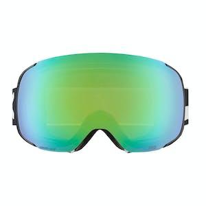 Anon M2 MFI Snowboard Goggle 2019 - Black / Sonar Green + Spare Lens