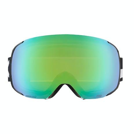 Anon M2 Snowboard Goggle 2019 - Black / Sonar Green + Spare Lens