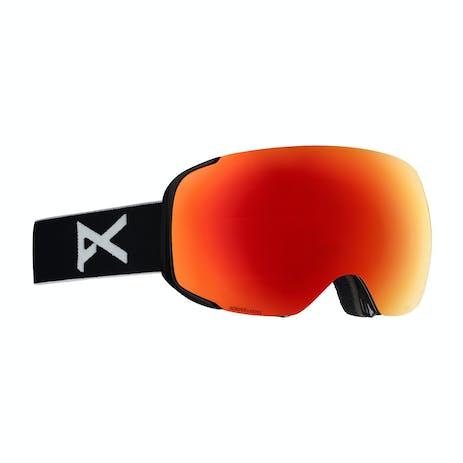 Anon M2 Snowboard Goggle 2019 - Black / Sonar Red + Spare Lens