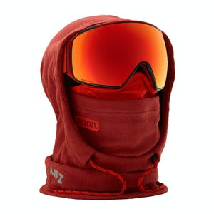 Anon MFI Hooded Helmet Balaclava - Red
