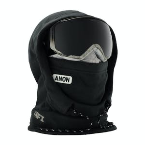 Anon MFI Women's Hooded Helmet Balaclava - Marble Black