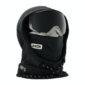 Anon MFI Women's Hooded Helmet Balaclava - Marble Black