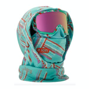 Anon MFI Kids' Hooded Helmet Balaclava 2019 - Flutter Teal