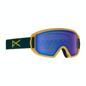 Anon Relapse Jr. MFI Kids' Snowboard Goggle 2019 - Blue / Blue Amber