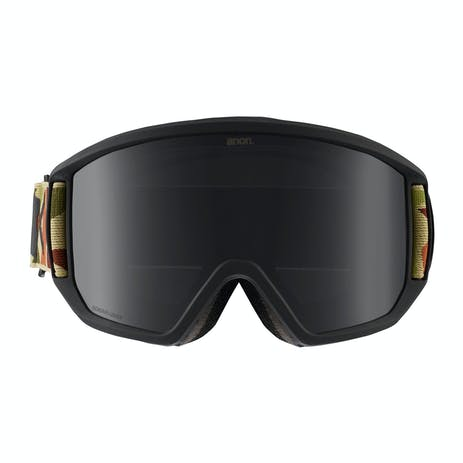Anon Relapse MFI Snowboard Goggle 2019 - Duck Camo / Sonar Smoke + Spare Lens
