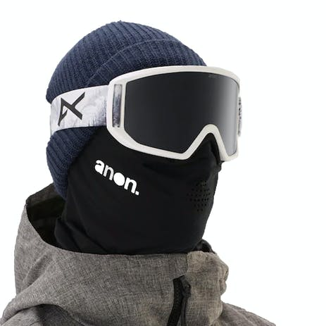 Anon Relapse MFI Snowboard Goggle 2019 - Loc / Sonar Smoke + Spare Lens