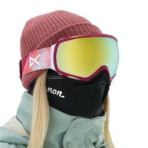 Anon Tempest MFI Women's Snowboard Goggle 2019 - Geo / Sonar Bronze