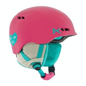 Anon Burner Youth Snowboard Helmet - Love/Rose