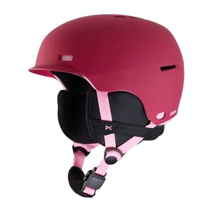 Anon Flash Youth Snowboard Helmet 2020 - Berry
