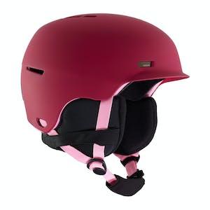 Anon Flash Youth Snowboard Helmet 2020 - Berry