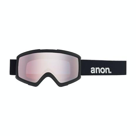 Anon Helix 2.0 Snowboard Goggle 2021 - Black / Silver + Spare Lens