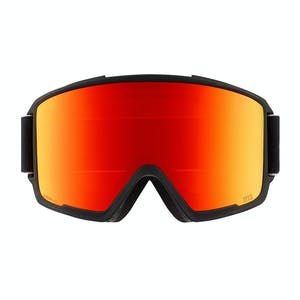 Anon M3 MFI Snowboard Goggle 2020 - Black / Sonar Red + Spare Lens