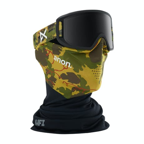 Anon Relapse Jr. MFI Youth Snowboard Goggle 2020 - Camo / Smoke