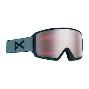 Anon M3 MFI Snowboard Goggle 2020 - Grey / Sonar Silver + Spare Lens