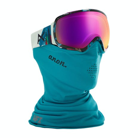 Anon Tempest MFI Women's Snowboard Goggle 2020 - Parrot / Sonar Pink