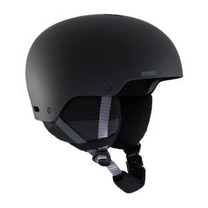 Anon Rime 3 Youth Snowboard Helmet 2020 - Black