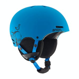 Anon Rime Youth Snowboard Helmet - Sulley / Blue